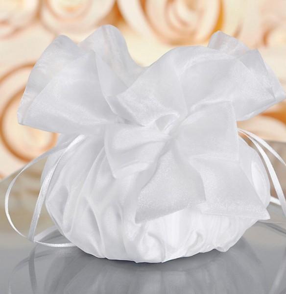 Brautbeutel aus Organza