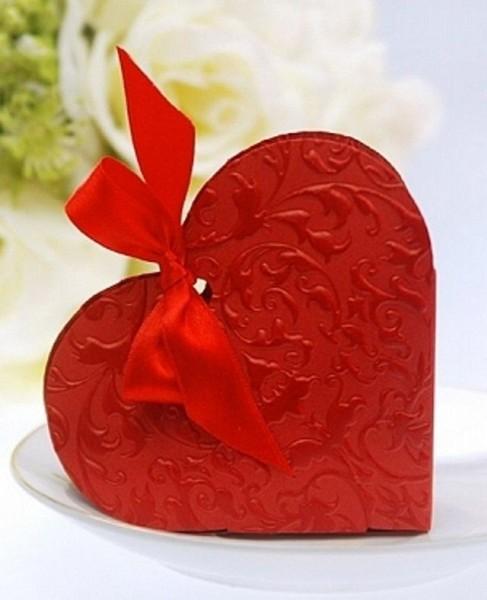 Gastgeschenke Herz rot