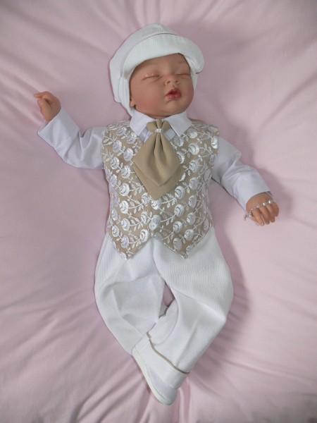 Taufanzug aus Cord ♥ Mika