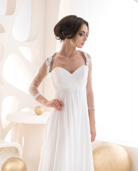 Brautbolero aus Tüll und Spitze