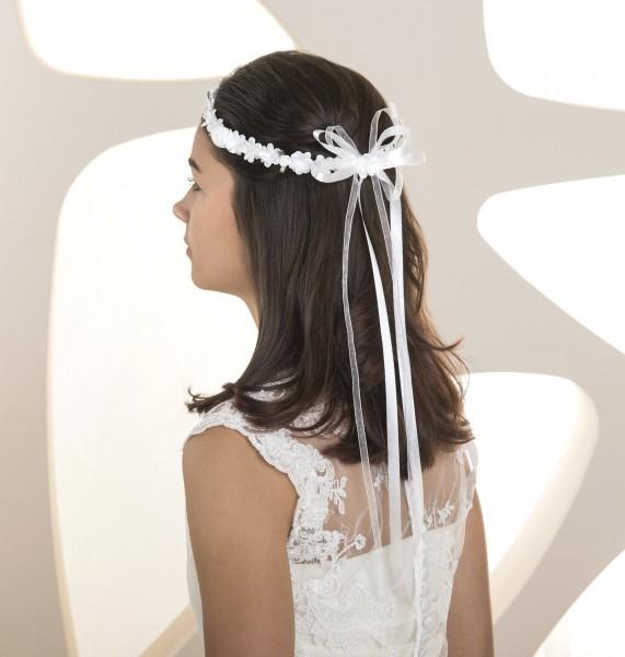 Haarkranz Haarschmuck Kommunion