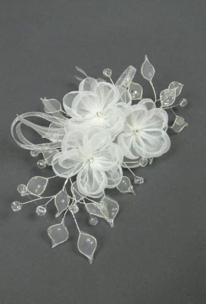 Haarschmuck mit 3 Blumen