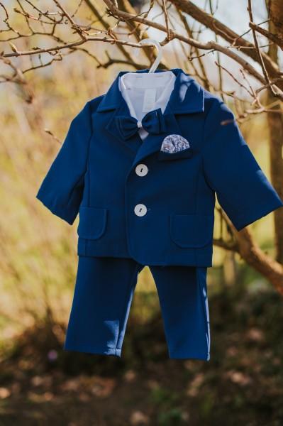 Lenn ♥ Taufanzug in blau