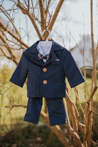 Luca ♥ Taufanzug in dunkelblau