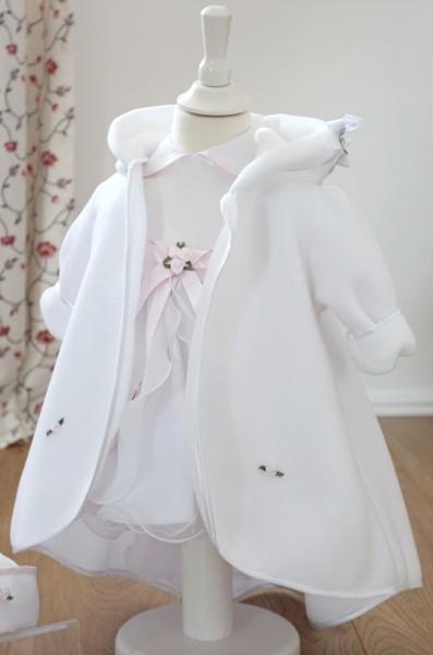 Mantel zum Taufkleid