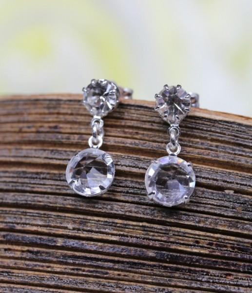 Ohrringe aus Kristall