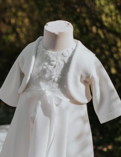 Bolero Baby-Jäckchen in creme ♥ zum Taufkleid