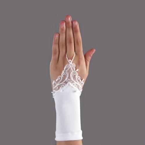 Fingerlose Handschuhe Spitze