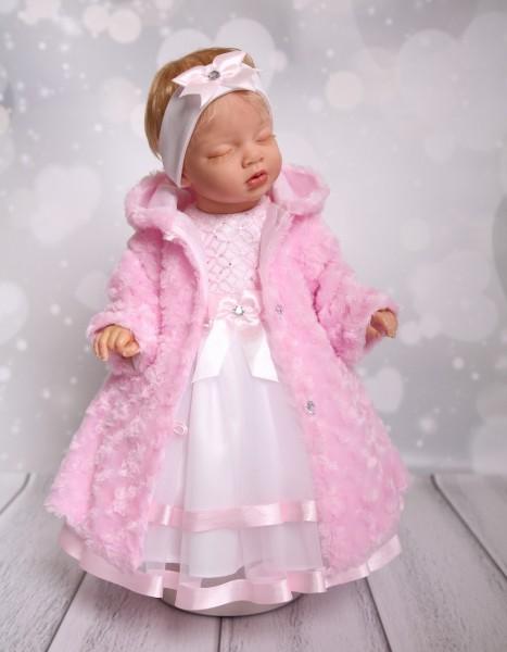 Mantel zum Taufkleid in rosa