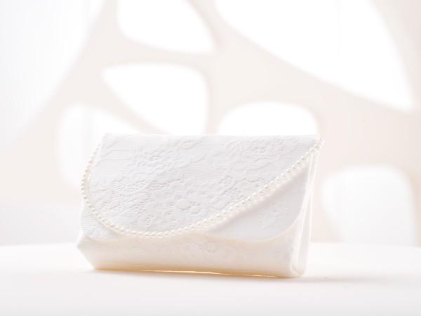 Braut Tasche mit Spitze